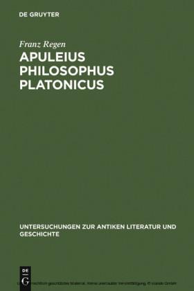 Apuleius philosophus Platonicus