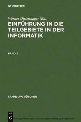 Einführung in die Teilgebiete der Informatik. Band 2