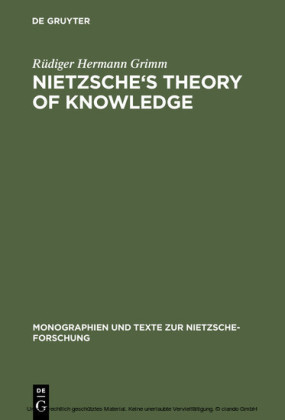 Nietzsche's Theory of Knowledge