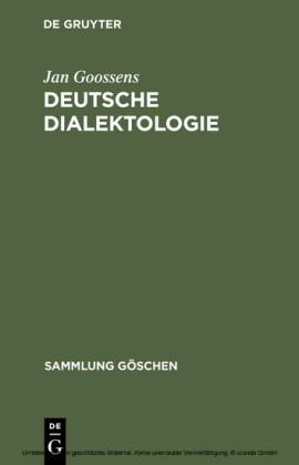 Deutsche Dialektologie