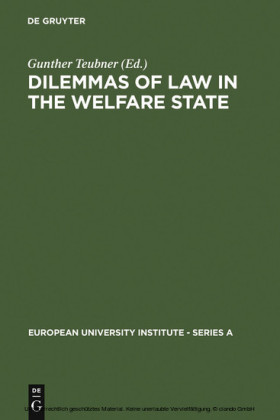 Dilemmas of Law in the Welfare State