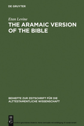 The Aramaic Version of the Bible