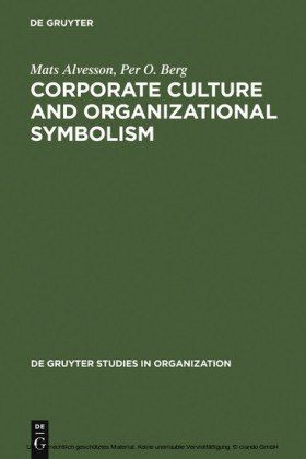 Corporate Culture and Organizational Symbolism