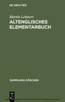 Altenglisches Elementarbuch