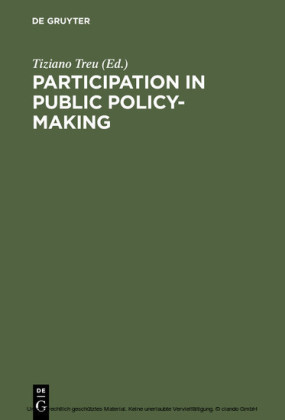 Participation in Public Policy-Making