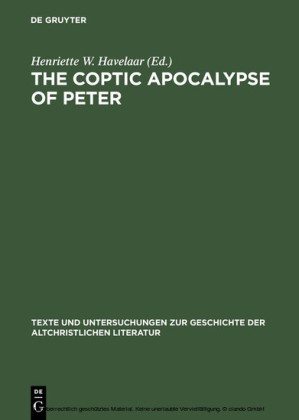The Coptic Apocalypse of Peter