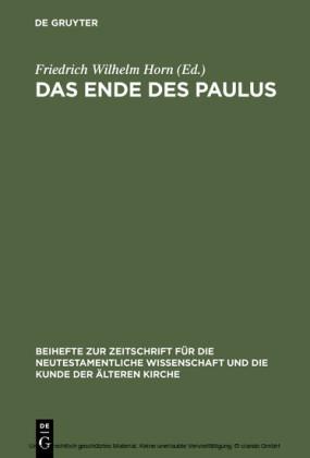 Das Ende des Paulus