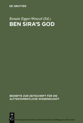 Ben Sira's God