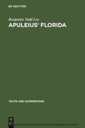 Apuleius' Florida