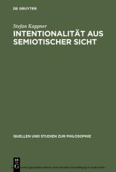 Intentionalität aus semiotischer Sicht