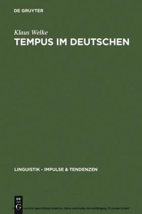 Tempus im Deutschen
