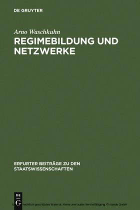 Regimebildung und Netzwerke