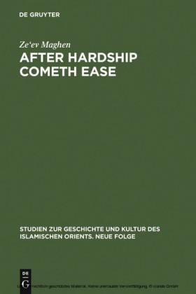 After Hardship Cometh Ease