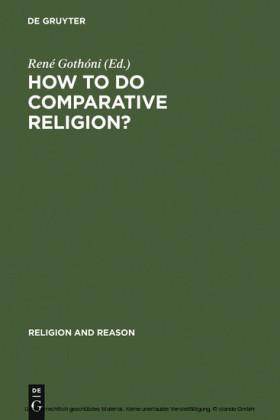 How to do Comparative Religion?