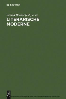 Literarische Moderne