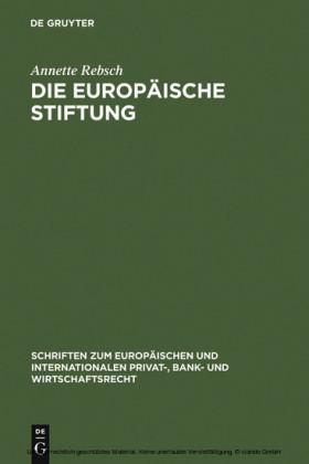 Die Europäische Stiftung