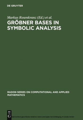 Gröbner Bases in Symbolic Analysis