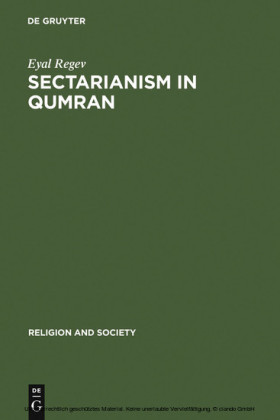 Sectarianism in Qumran