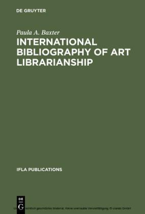 International Bibliography of Art Librarianship