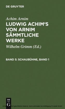Schaubühne, Band 1