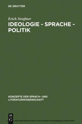 Ideologie - Sprache - Politik
