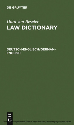 Deutsch-Englisch/German-English