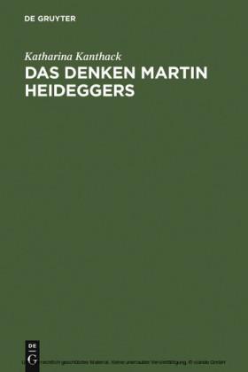Das Denken Martin Heideggers