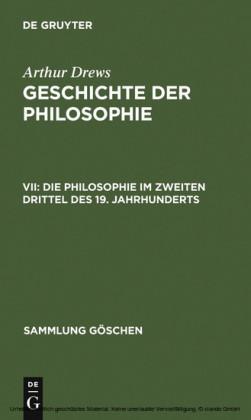 Die Philosophie im zweiten Drittel des 19. Jahrhunderts