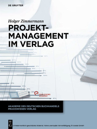 Projektmanagement im Verlag