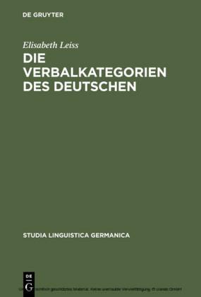 Die Verbalkategorien des Deutschen