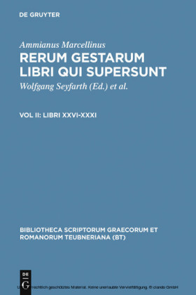 Libri XXVI-XXXI