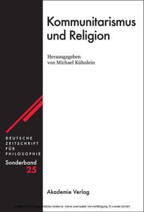 Kommunitarismus und Religion