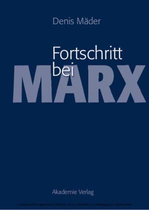 Fortschritt bei Marx