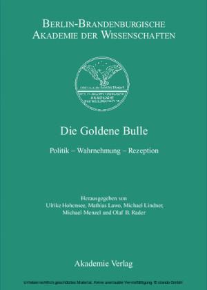Die Goldene Bulle