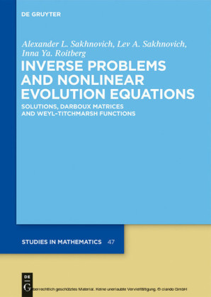 Inverse Problems and Nonlinear Evolution Equations