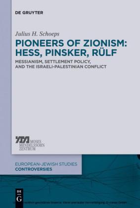 Pioneers of Zionism: Hess, Pinsker, Rülf