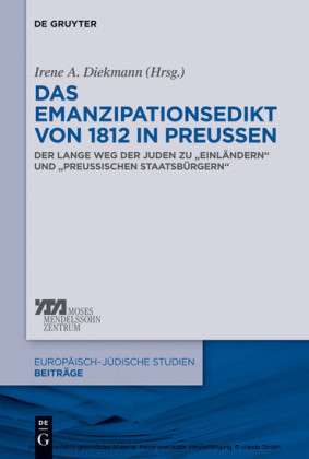 Das Emanzipationsedikt von 1812 in Preußen