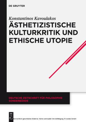 Ästhetizistische Kulturkritik und ethische Utopie