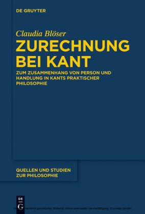Zurechnung bei Kant
