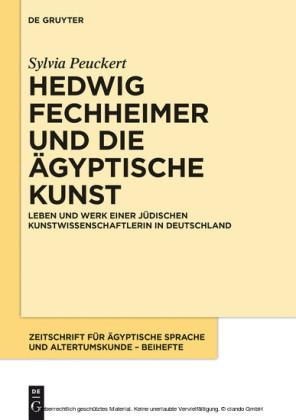 Hedwig Fechheimer und die ägyptische Kunst
