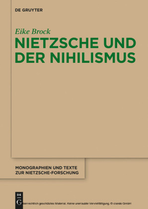 Nietzsche und der Nihilismus