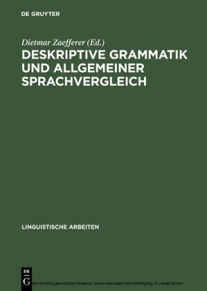 Deskriptive Grammatik und allgemeiner Sprachvergleich