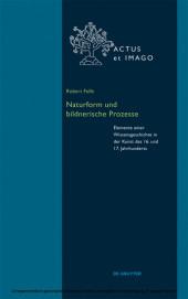Naturform und bildnerische Prozesse