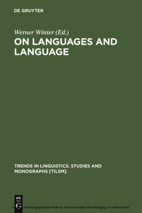 On Languages and Language