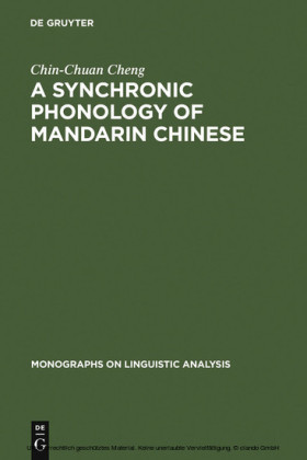 A Synchronic Phonology of Mandarin Chinese