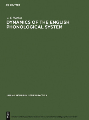 Dynamics of the English Phonological System