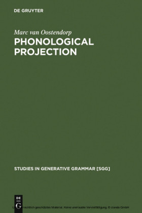 Phonological Projection