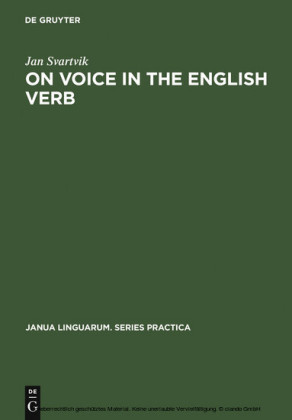 On Voice in the English Verb
