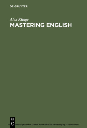 Mastering English