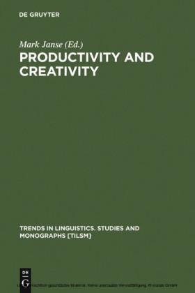 Productivity and Creativity